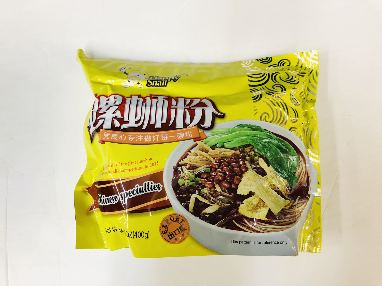 好欢螺螺蛳粉 (400g) HAOHUANLUO Liuzhou famous brand spicy rice noodle Chinese specialties 400g