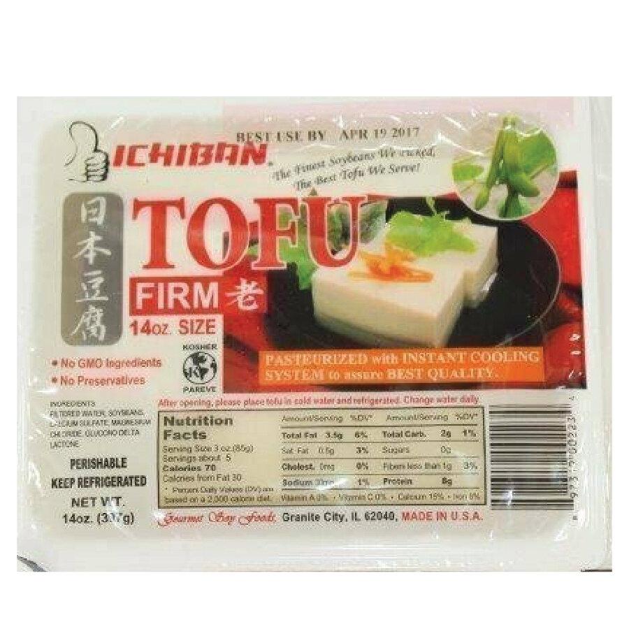 ❄一级棒豆腐(老) ICHIBAN TOFU FIRM 397g(14 oz)