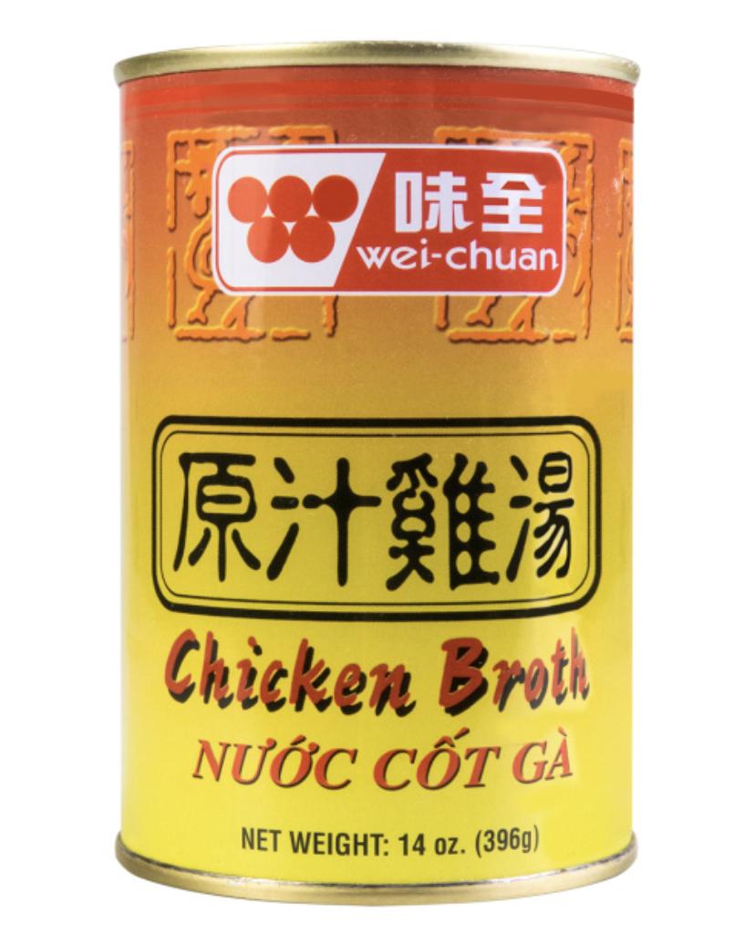 味全 原汁鸡汤 ~396g(14oz)x12 Chicken Broth 396g(14oz)x12