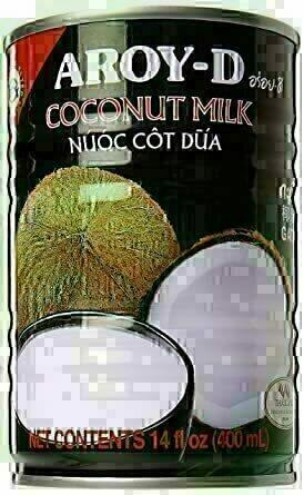 AROY-D Coconut Milk 椰浆 ~400ml(14oz) AROY-D COCONUT MILK 400ml(14oz)