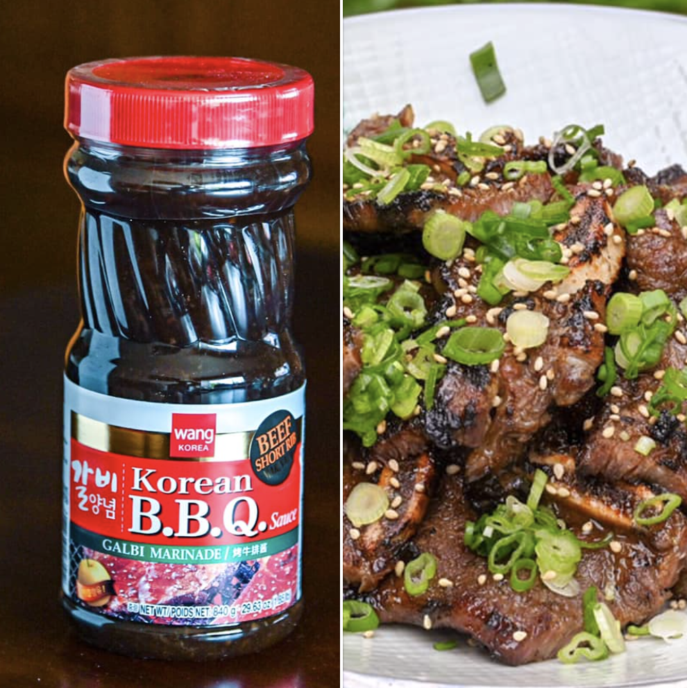 Wang 韩国烤牛排酱 ~840g(29.63oz) WANG KOREA Korean B.B.Q Sauce GALBI MARINADE 840g(29.63oz)