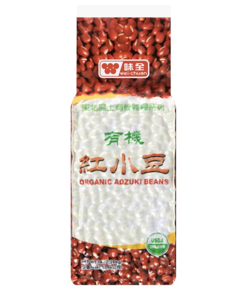 味全有机红小豆 ~396g(14oz) Organic aozuki beans 396g(14oz)