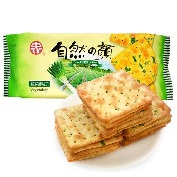 中祥 蔬菜苏打饼 ~140g(4.94oz) Soda Crackers Vegetable 140g (4.94oz)