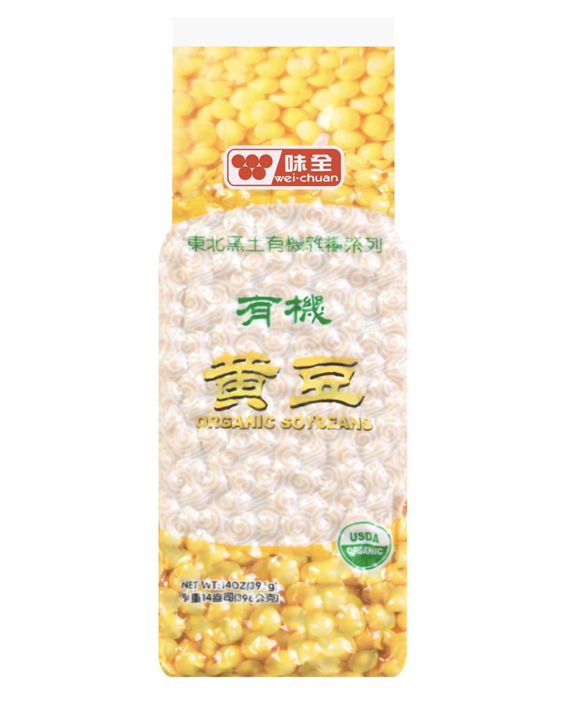 味全有机黄豆 ~396g(14oz) Organic Soybeans 396g (14oz)
