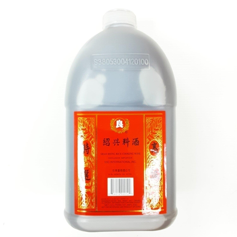 良牌 绍兴料酒 ~3Liters(101.46 Fl.oz) SHAO HSING RICE COOKING WINE Exclusive importer 3liters (101.46 fl oz)