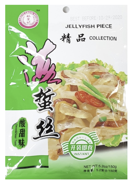 林生记海蜇丝 酸甜味 ~150g(5.2oz) Lam Sheng Kee JELLYFISH PIECE SWEET&SOUR TASTE 150g (5..2oz)