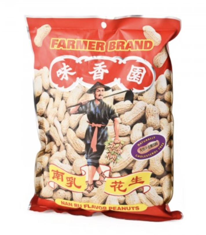 味香园 南乳花生 ~300g(10.58oz) Nan Ru Flavor Peanuts 300g(10.58oz)