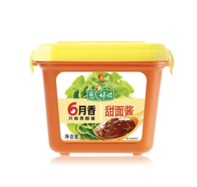 欣和 葱伴侣 6月香 甜面酱 ~800g Shinho Sweet Bean Paste 800g