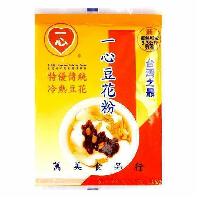 一心豆花粉 ~80g Soybean Pudding Power ~80g