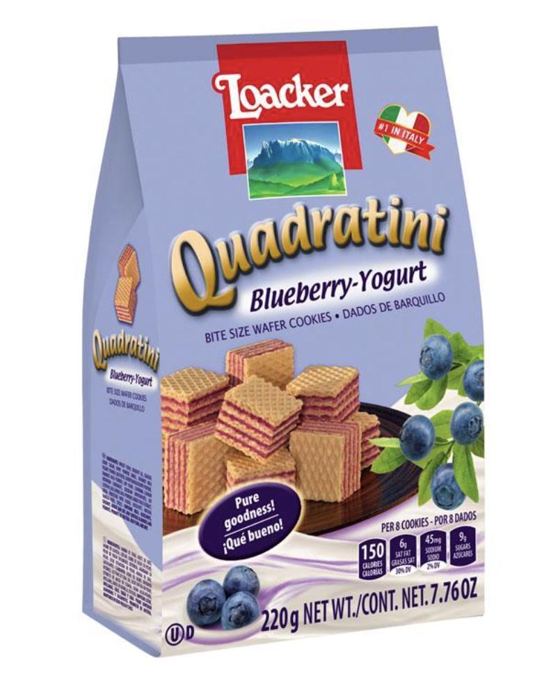 Loacker Blueberry - Yogurt ~220g(7.76 OZ) Loacker Blueberry - Yogurt ~220g(7.76 OZ)