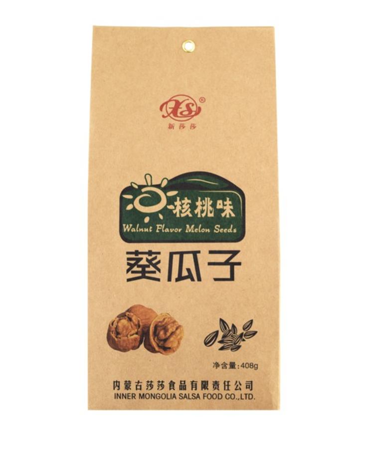 新莎莎 核桃味葵瓜子 ~408g XS Walnut Flavor Melon Seeds ~408g