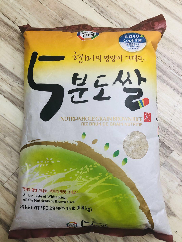 韩国 快煮糙米 ~15lb Sura Brown Rice ~15lb