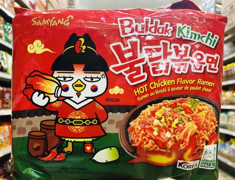 三养泡菜辣鸡面 SAMYANG Buldak  Kimchi Hot Chicken Flavor~ 675g(23.8oz)