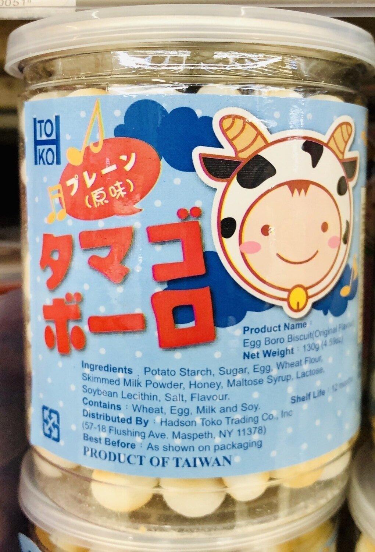 TOKO Egg Boro Biscuit水果味~130g(4.59oz)