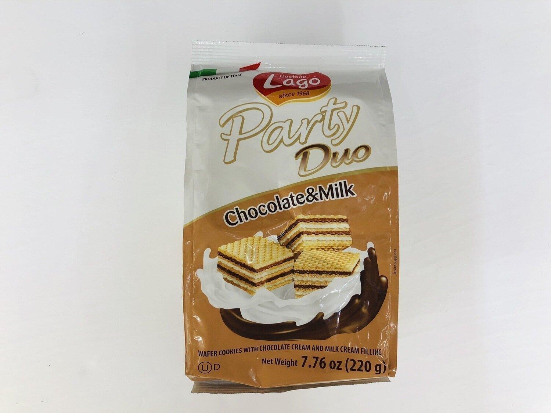 Lago Party Duo Chocolate&Milk~7.76oz(220g)