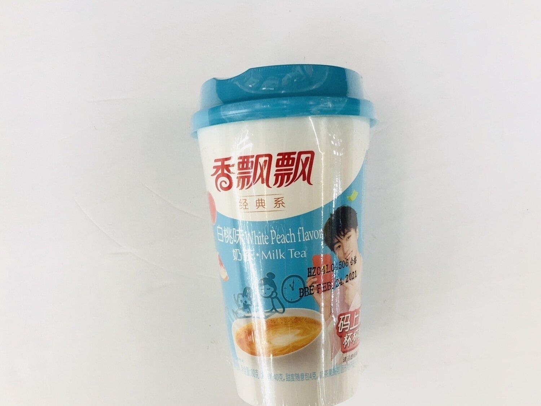 香飘飘经典系白桃味 White Peach flavor Milk Tea ~80g