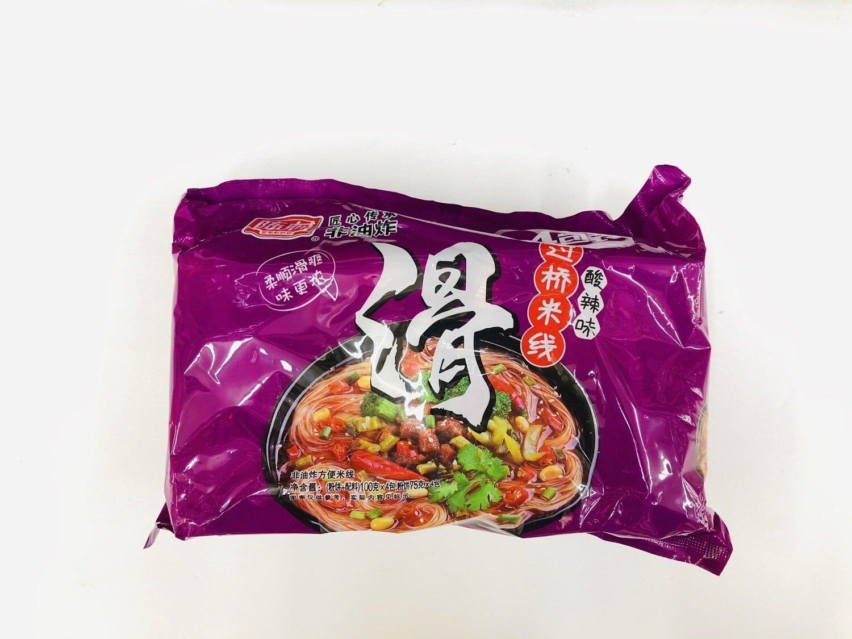 陈村过桥米线酸辣味4包装 SOUR&SPICY RICE NOODLE~100g*4