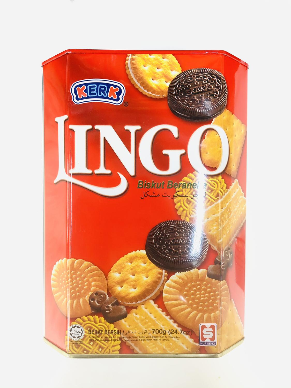 KERK 顶好什锦饼 LINGO Assorted Biscuits 700g(24.7oz)