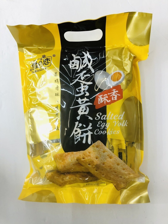雪之恋咸蛋黄饼 YUKI&LOVE Salted Egg Yolk Cookies~200g
