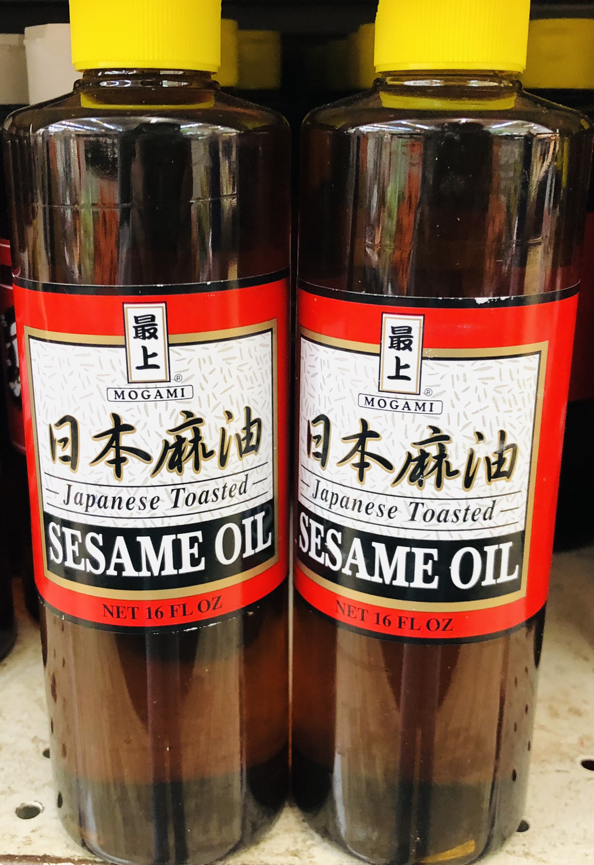 最上 日本麻油 MOGAMI Japanese Toasted SESAME OIL 16 FL OZ