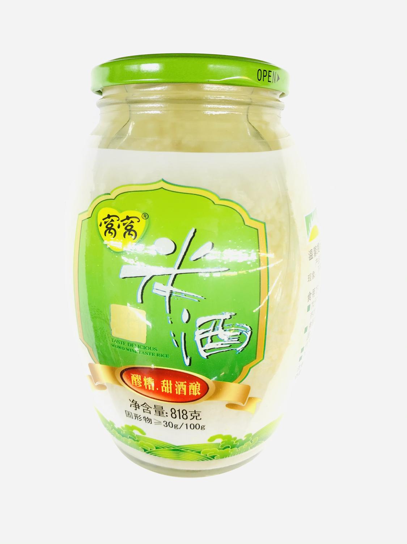 GROC【杂货】❄窝窝 甜米酒 818g