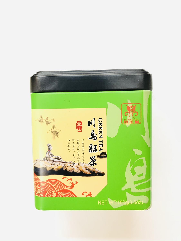 GROC【杂货】百花堂 川岛绿茶 100g(3.5oz)