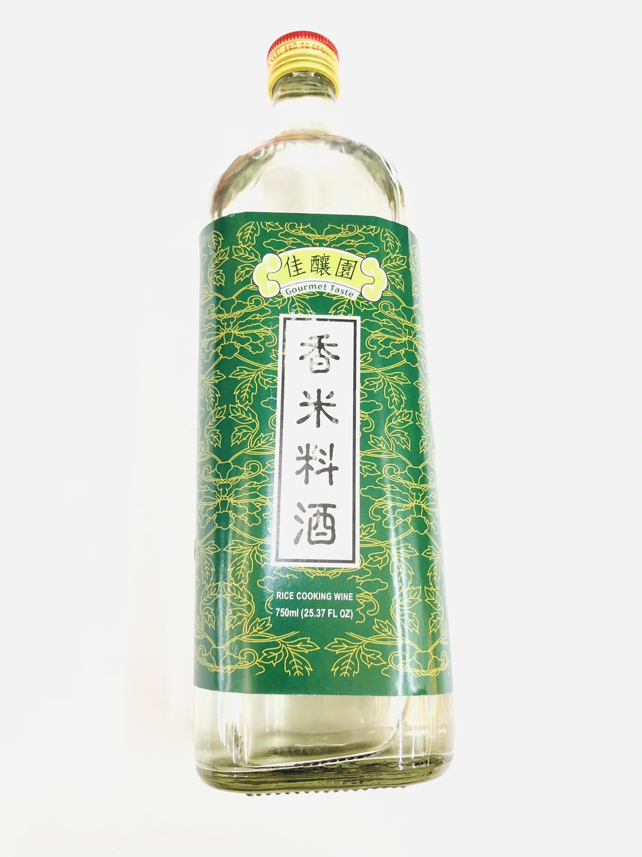 GROC【杂货】佳酿园 香米料酒 750ml