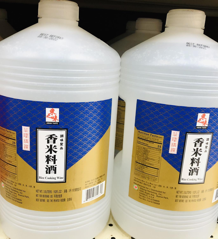 GROC【杂货】东之味 香米料酒 3.0LITERS(102FL.OZ)