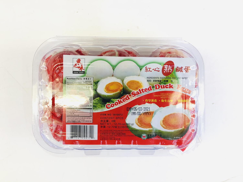 GROC【杂货】东之味 红心熟咸蛋 12.70oz(6枚)