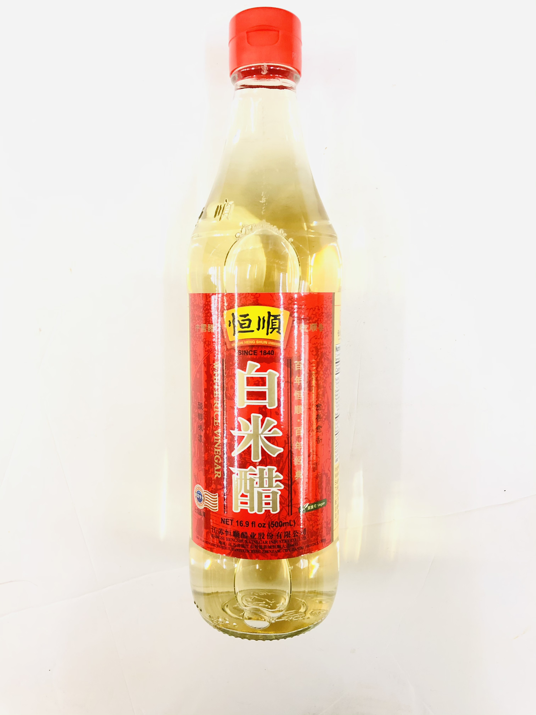 GROC【杂货】恒顺 白米醋 16.9 fl oz (500ml)