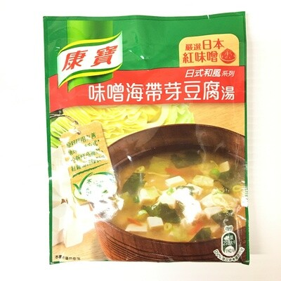 GROC【杂货】康宝 味噌海带芽豆腐汤 34.7g