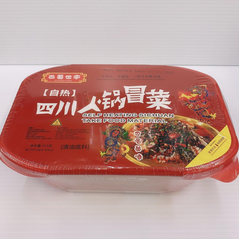 GROC【杂货】巴蜀世家 (自热)四川火锅冒菜 415g