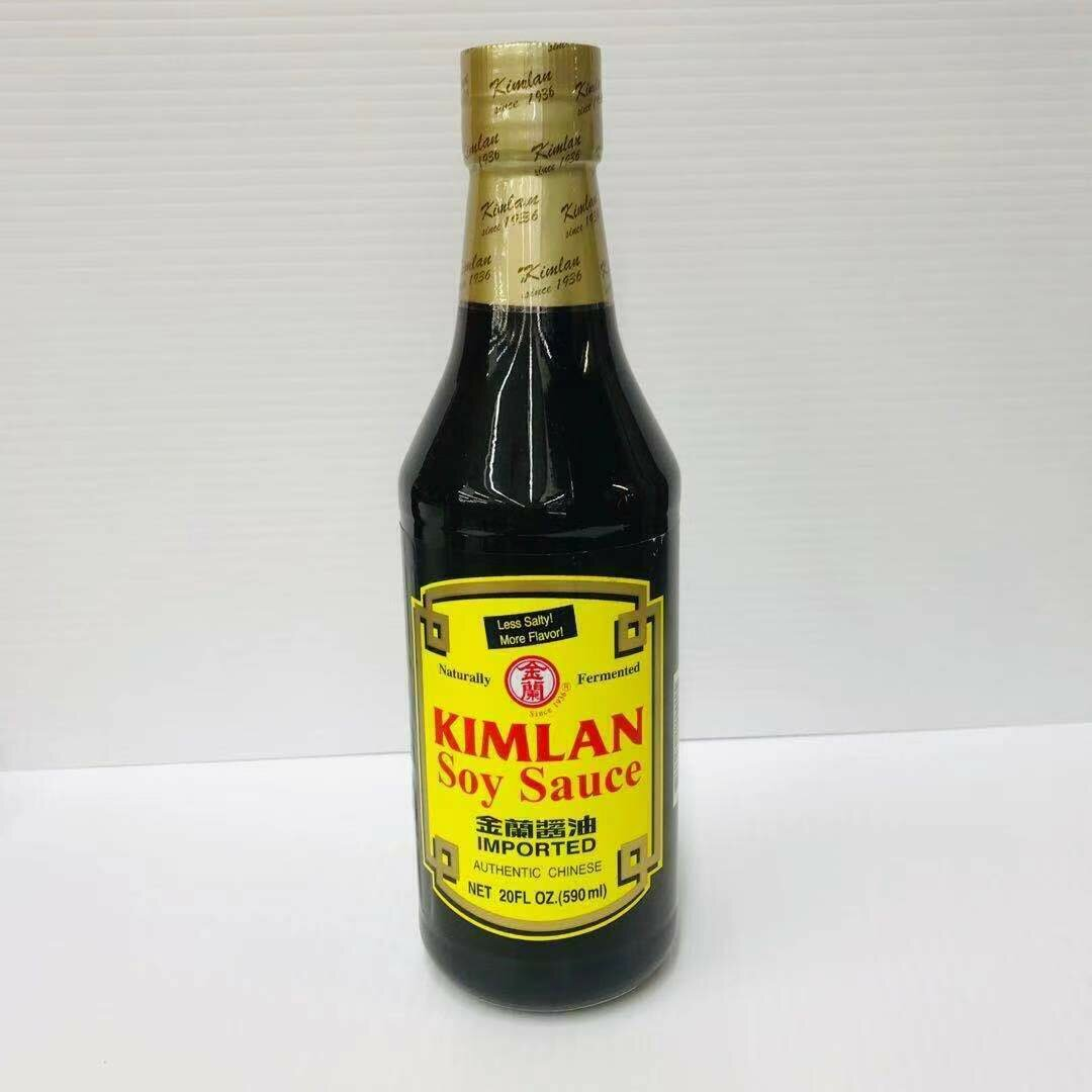 GROC【杂货】金兰 酱油 20FL OZ (590ml)