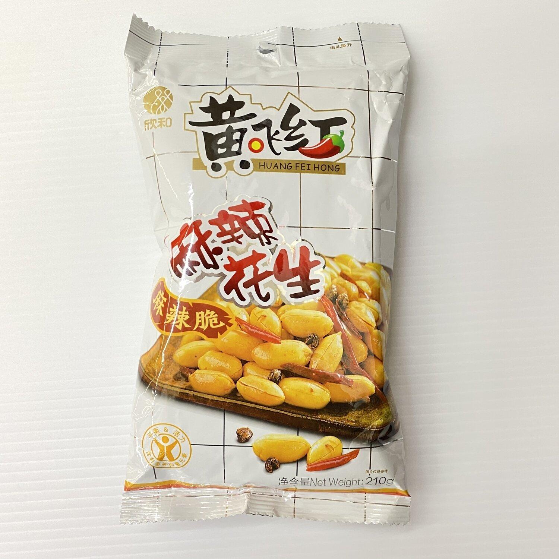 GROC【杂货】黄飞红麻辣花生 210g