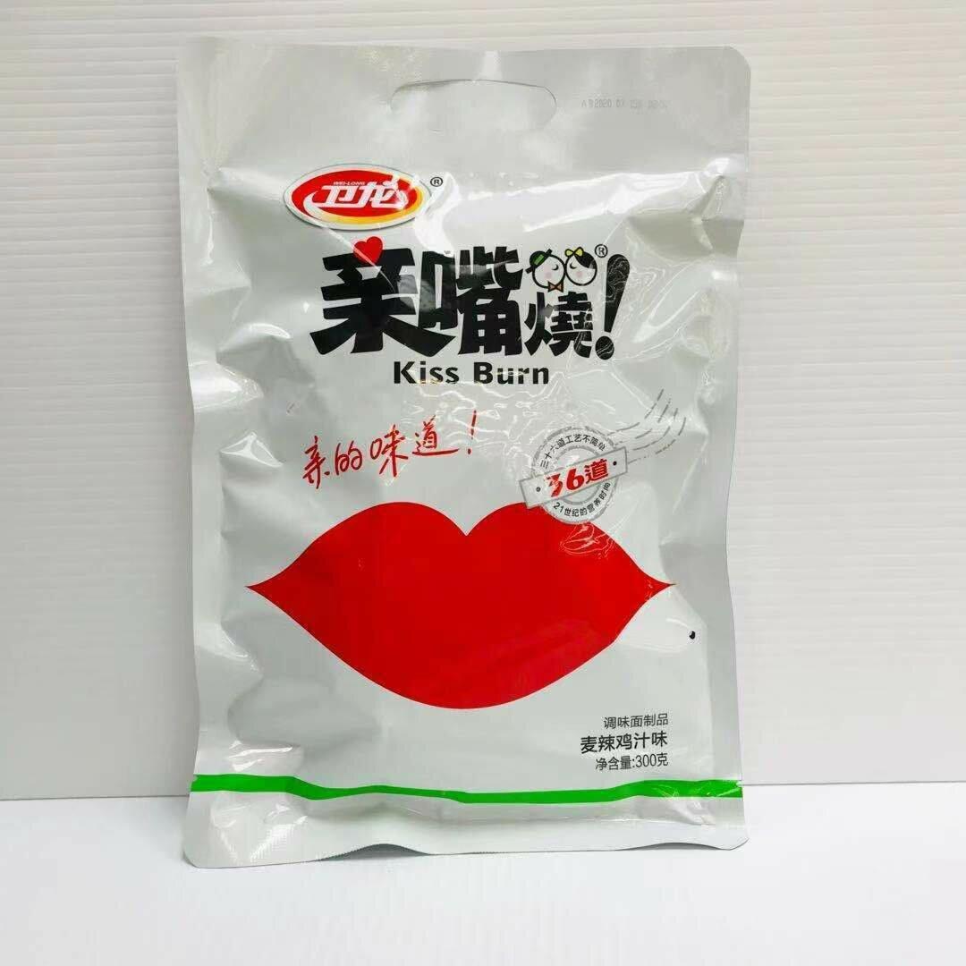 GROC【杂货】卫龙 亲嘴烧 麦辣鸡汁味 300g