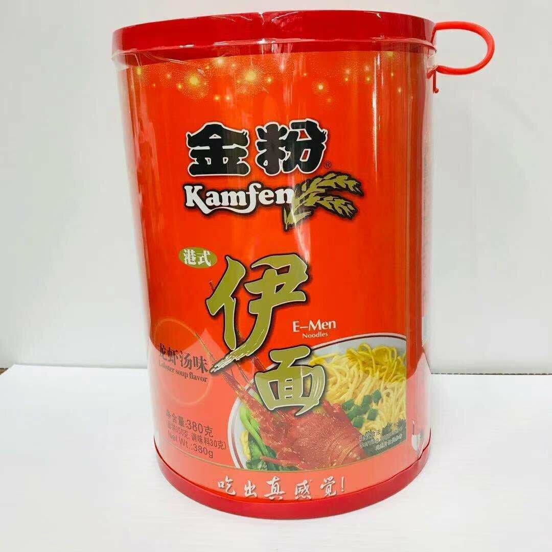 GROC【杂货】金粉 港式伊面 龙虾汤味 380g