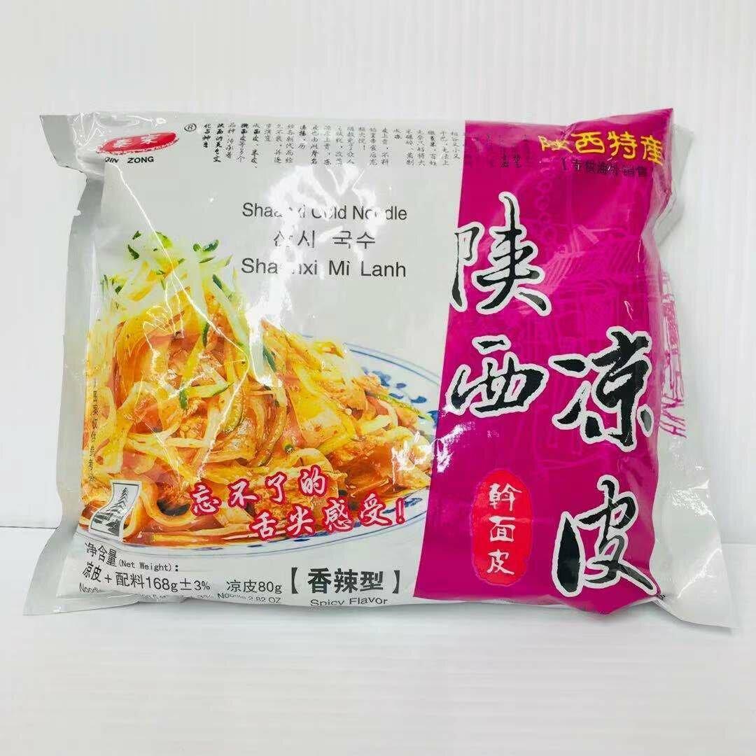 GROC【杂货】秦宗 陕西凉皮 擀面皮 香辣型 168g