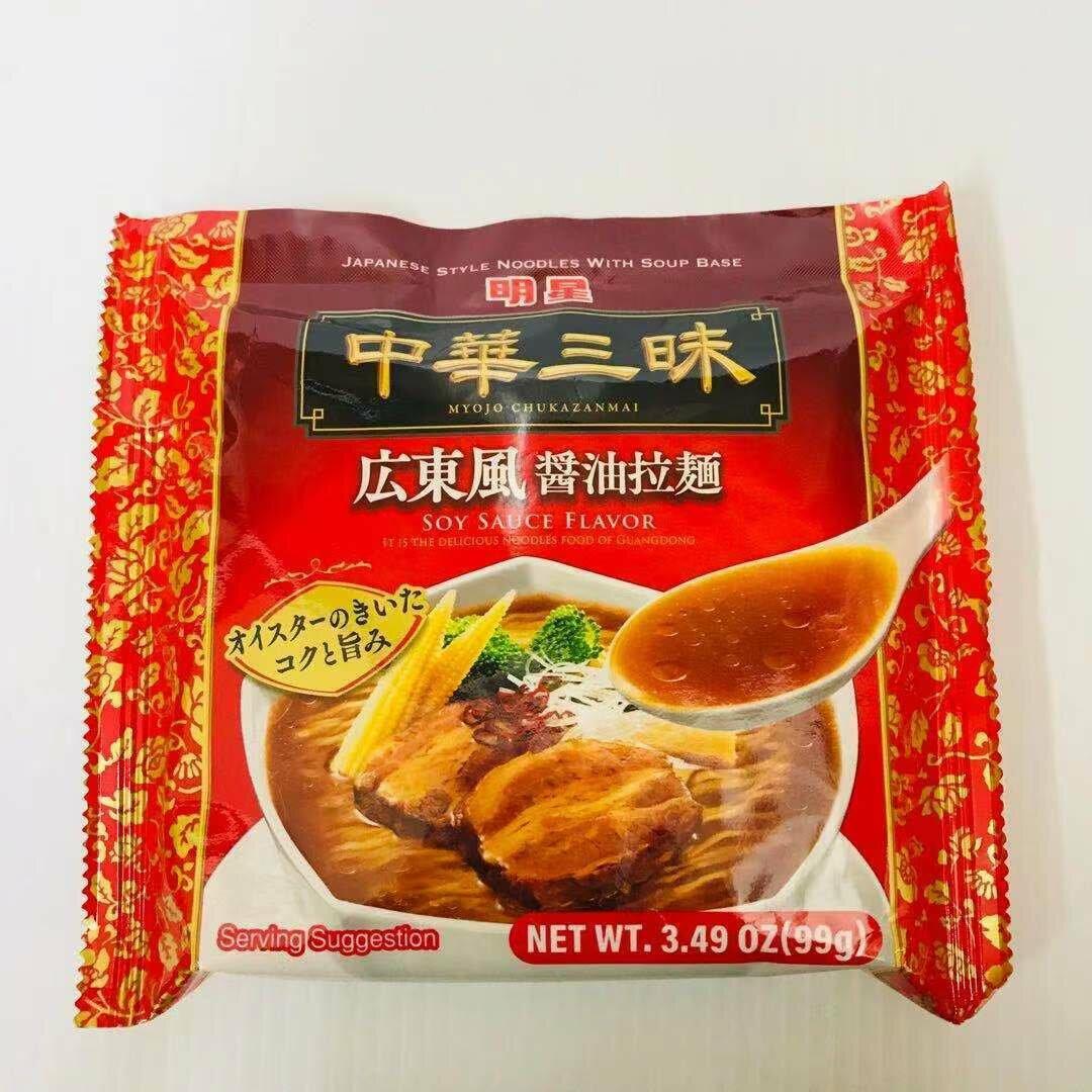 GROC【杂货】中华三味 广东风 酱油拉面 3.49OZ(99g)