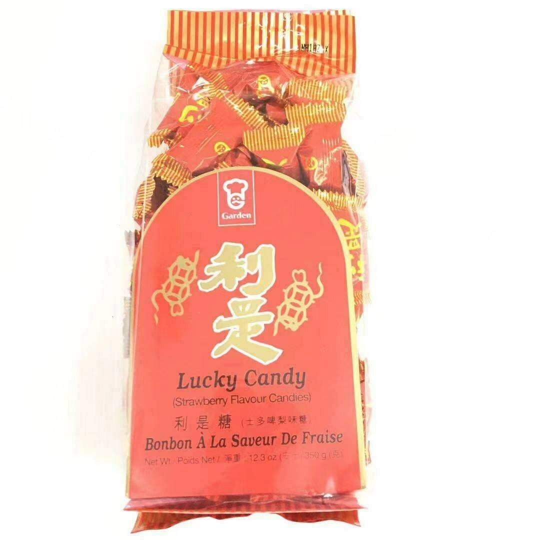 GROC【杂货】嘉顿 利是糖(士多啤梨味糖) 350g