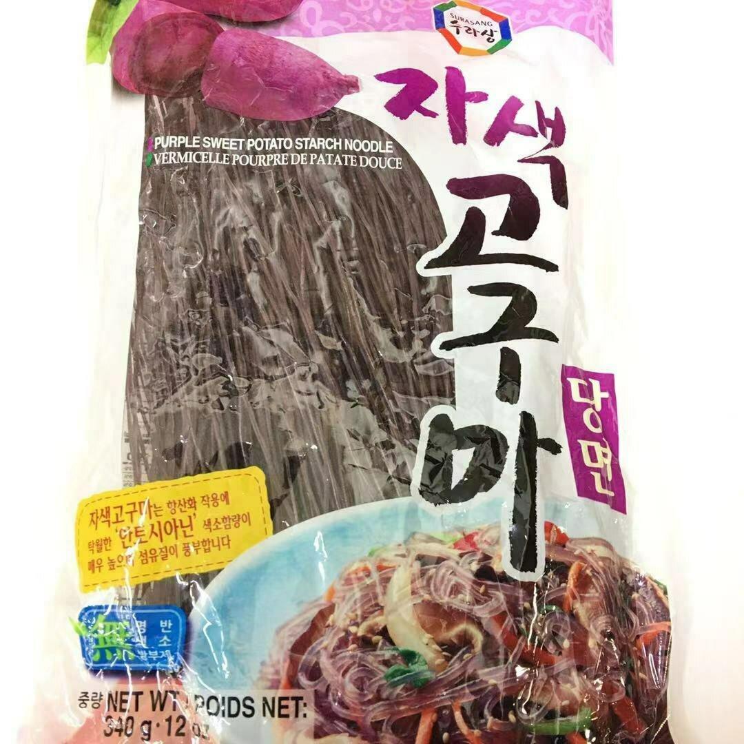 GROC【杂货】韩国紫薯粉条 340g
