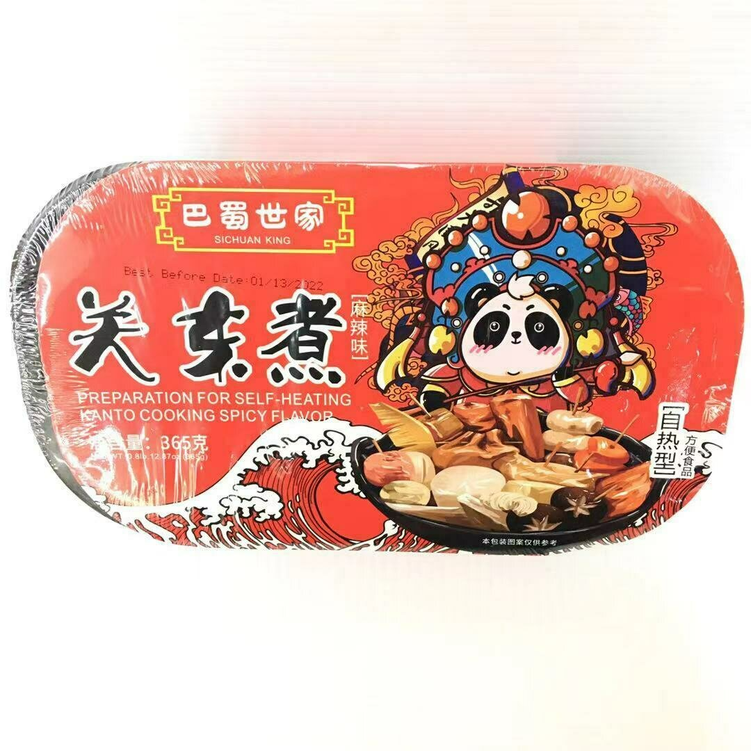 GROC【杂货】巴蜀世家 关东煮(麻辣味) 自热型 365g