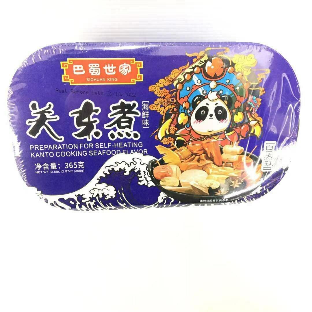 GROC【杂货】巴蜀世家 关东煮(海鲜味) 自热型 365g