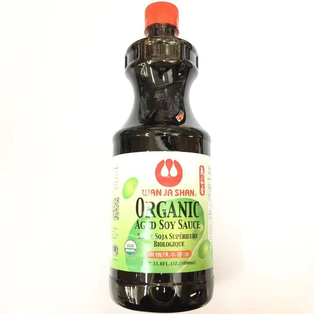GROC【杂货】万家香 有机陈年酱油 1000ml