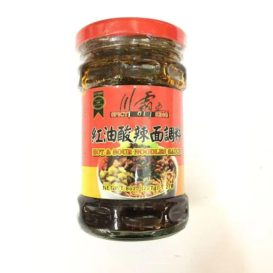 GROC【杂货】川霸王 红油酸辣面调料 8oz(227g)