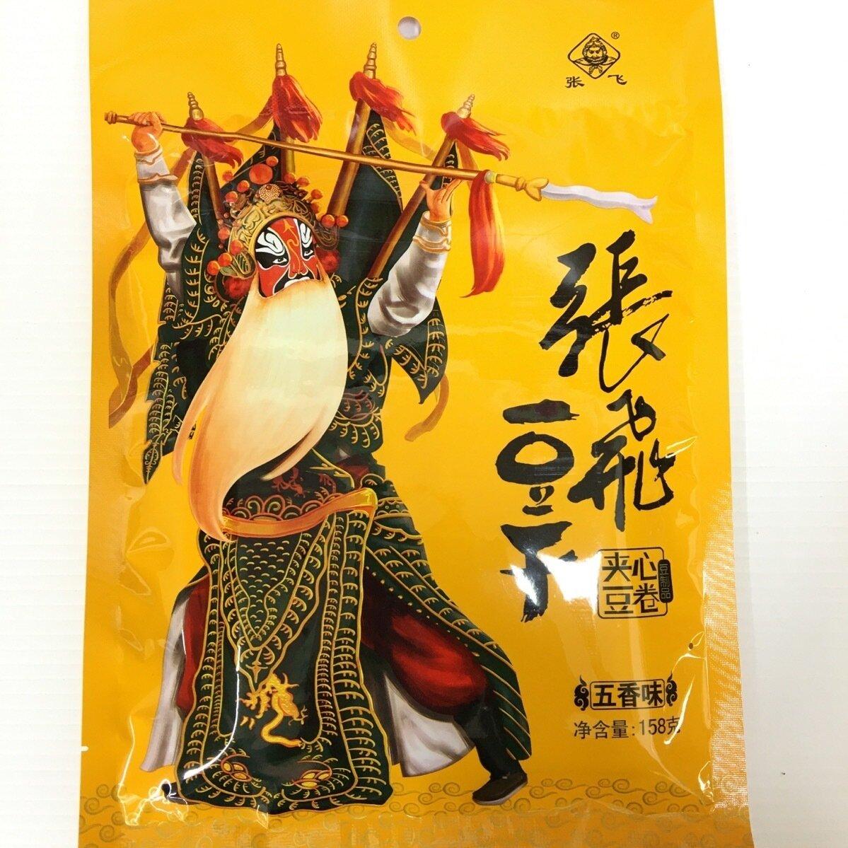 GROC【杂货】张飞豆干 五香味 158g