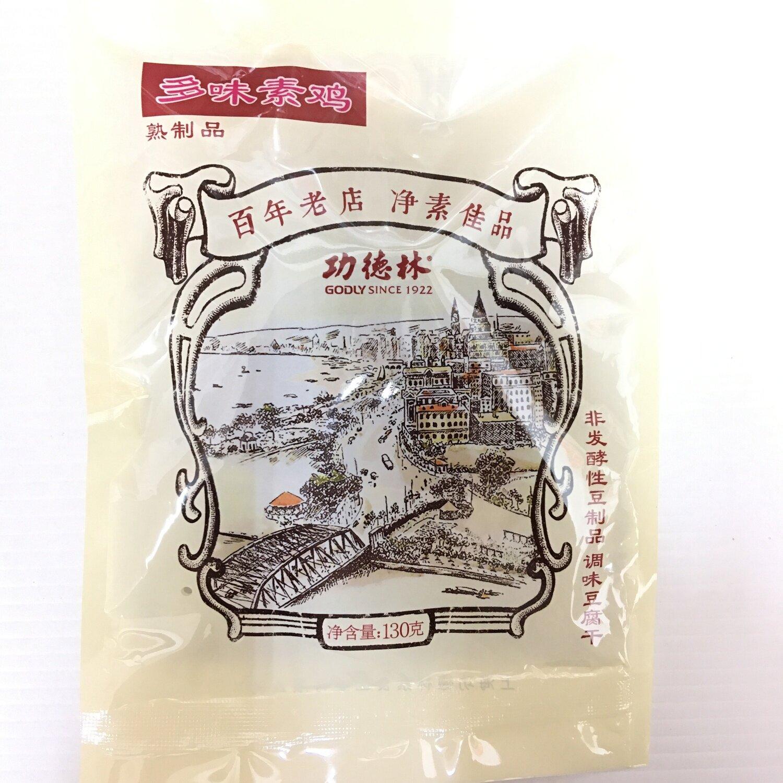 GROC【杂货】功德林 多味素鸡 130g