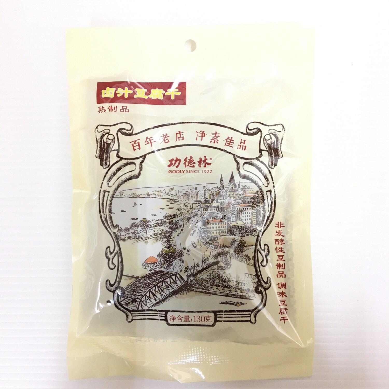 GROC【杂货】功德林 卤汁豆腐干 130g