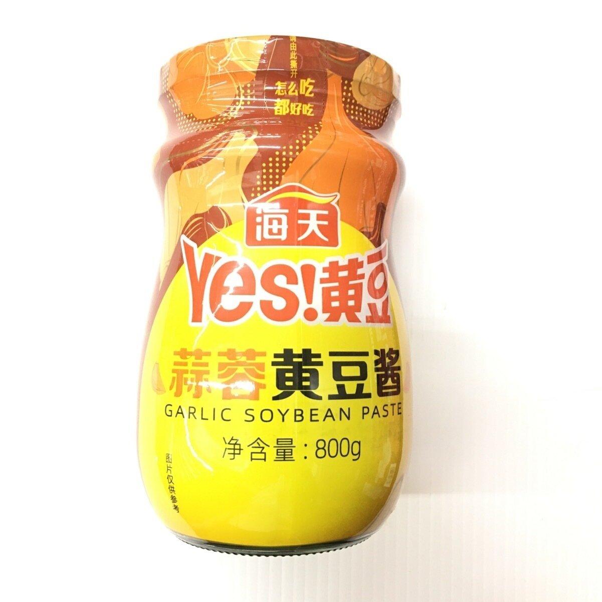 GROC【杂货】(新品)海天 蒜蓉黄豆酱 800g