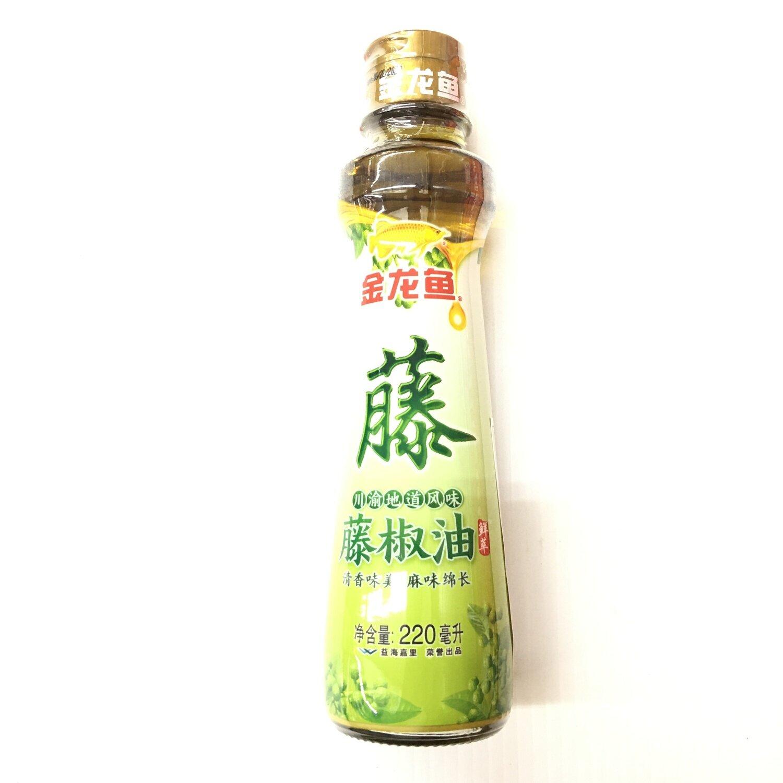 GROC【杂货】金龙鱼 藤椒油 220ml