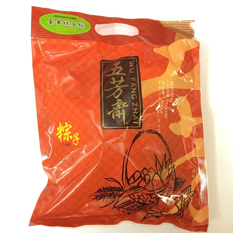 GROC【杂货】五芳斋 蛋黄绿豆粽 300g